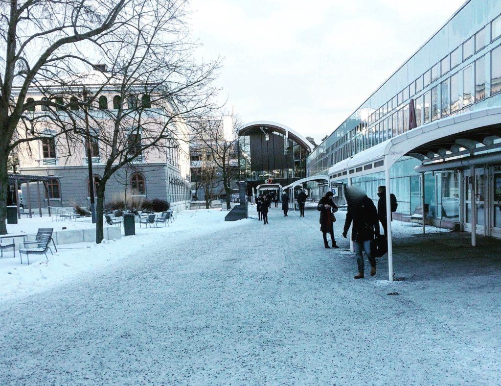 Bild på Södra husen på Stockholms universitet