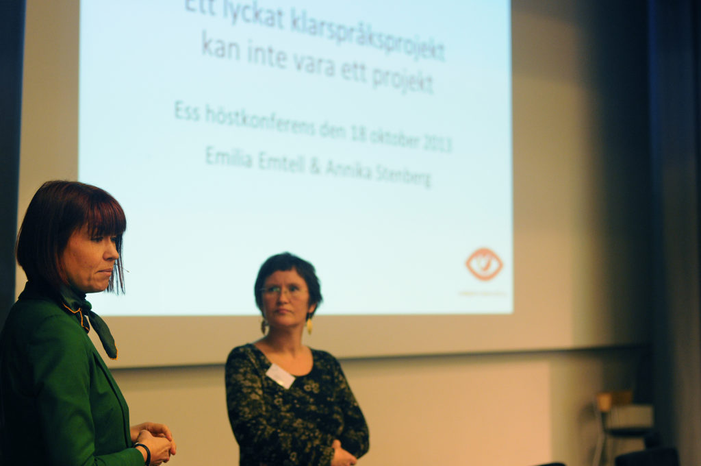 Annika Stenberg och Emilia Emtell